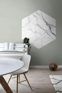 vardagsrum wallsticker marmor svart och vitt 159026