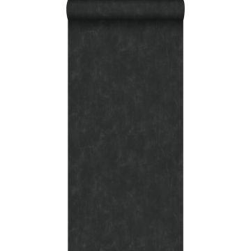 tapet enfärgad med målningseffekt svart