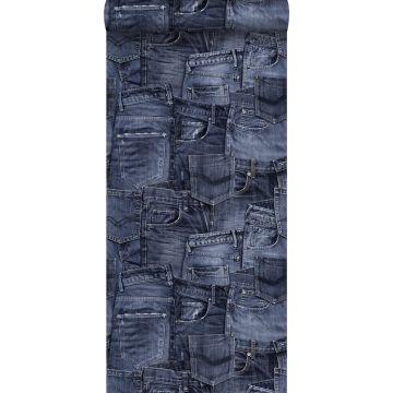 tapet jeanstyg mörkblått