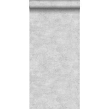 tapet betonglook ljust krämfärgat