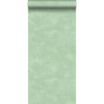 tapet betonglook mintgrönt