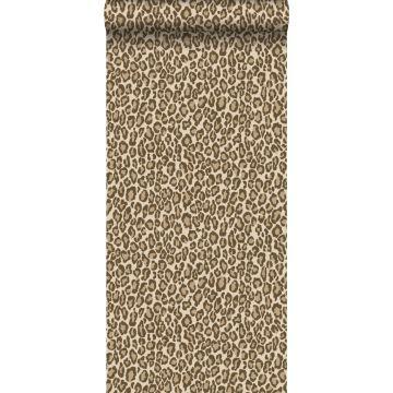 tapet leopardskinn brunt