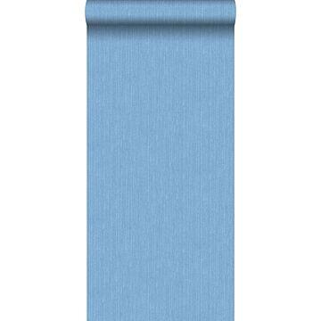 tapet jeansstruktur blått