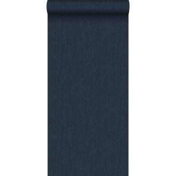 tapet enfärgad med jeansstruktur mörkblått