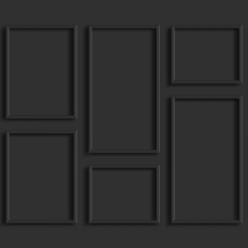 fototapet väggpanel antracitgrått