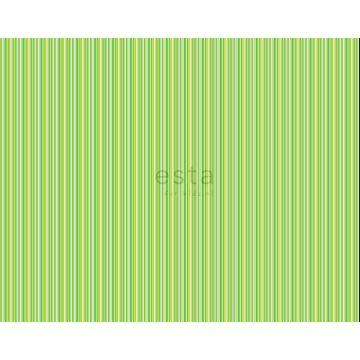 tyg ränder limegrönt