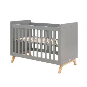 Babysäng Fenna grått och naturlig